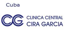 logo grafico Clinica Central Cira Garcia, Cuba
